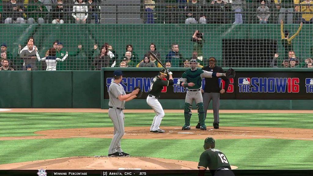 Athletics Baseball 2016 – MLB The Show 16: vs Seattle Mariners (Game 1)