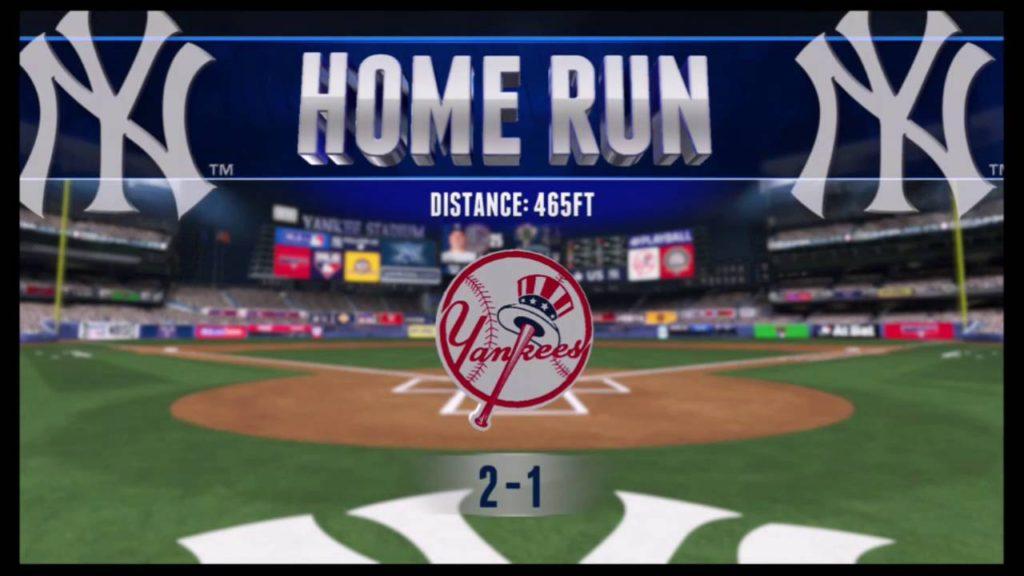 RBI Baseball 16 Season Mode: Yankees vs.  Mariners