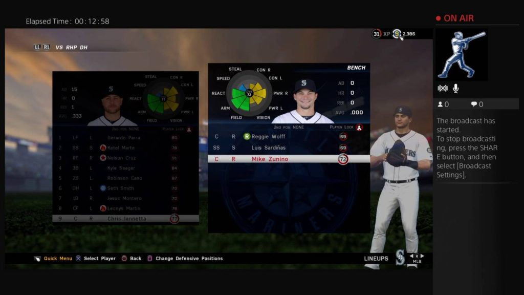 MLB The Show 16 Seattle Mariners Rebuild