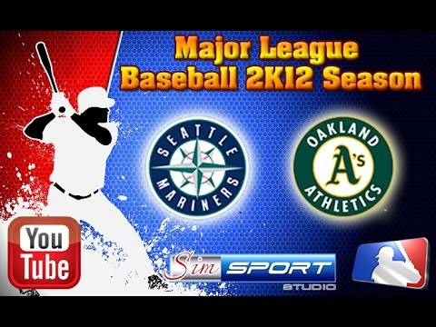 Seattle Mariners-Oakland Athletics. MLB2K12