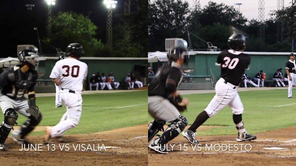 Mariners prospect Tyler Marlette ABs side-by-side
