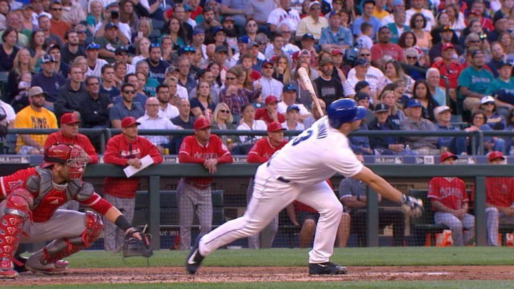 LAA@SEA: Mariners score six runs on seven hits in 1st