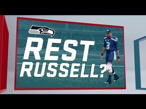 Should Seahawks Sit Russell Wilson vs. Jets? – SportsNation
