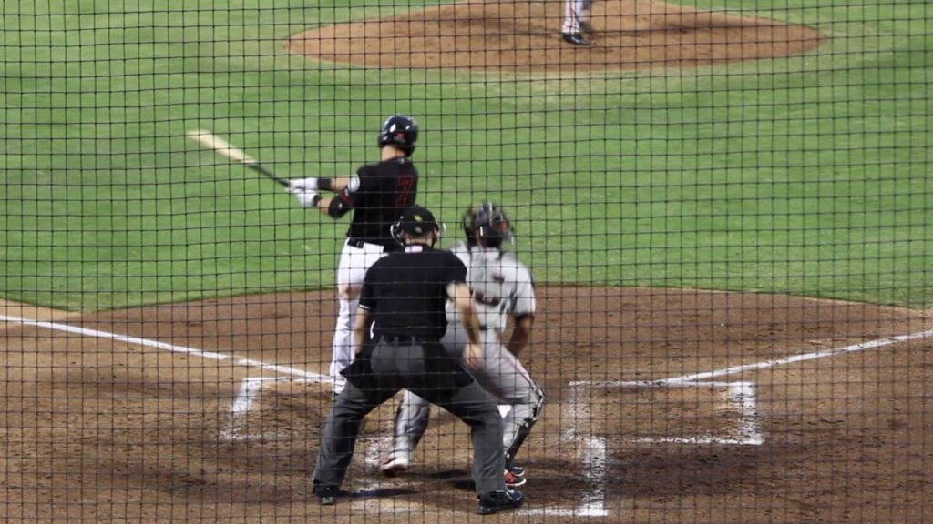 Mariners SS Drew Jackson at-bats (Bakersfield Blaze)