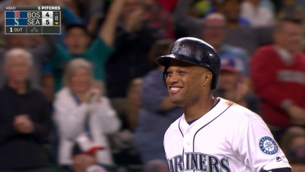 BOS@SEA: Mariners take the lead with five-run 8th