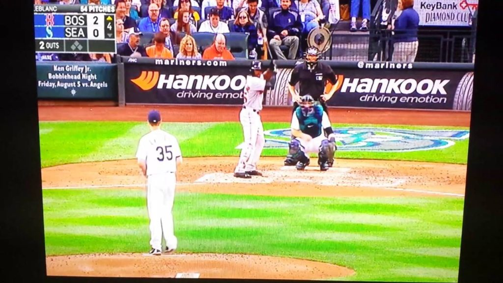 Guy Can't Get Hanley Ramirez Homerun Ball Red Sox @ Mariners August 2 2016