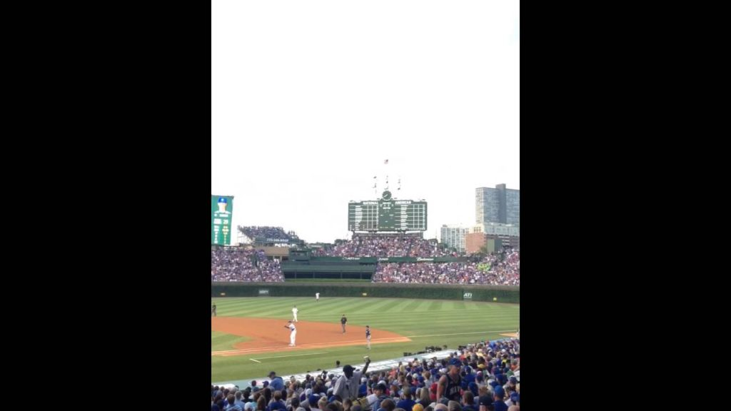 Chicago Cubs vs Seattle Mariners at wrigley field