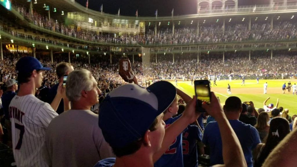 Cubs Win against Mariners: 7-31-2016