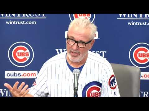 Maddon discusses Cubs walk-off win over Mariners