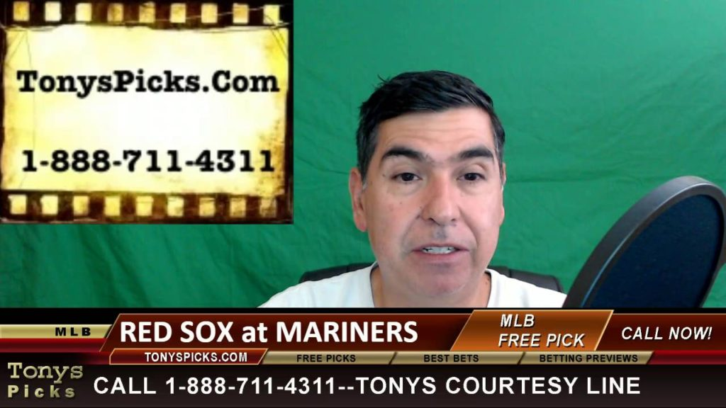 Boston Red Sox vs. Seattle Mariners Pick Prediction MLB Baseball Odds Preview 8-1-2016