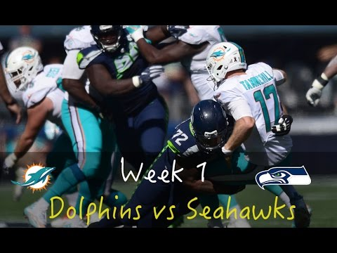 Dolphins vs Seahawks Week 1 Football | 2016 | Markhor