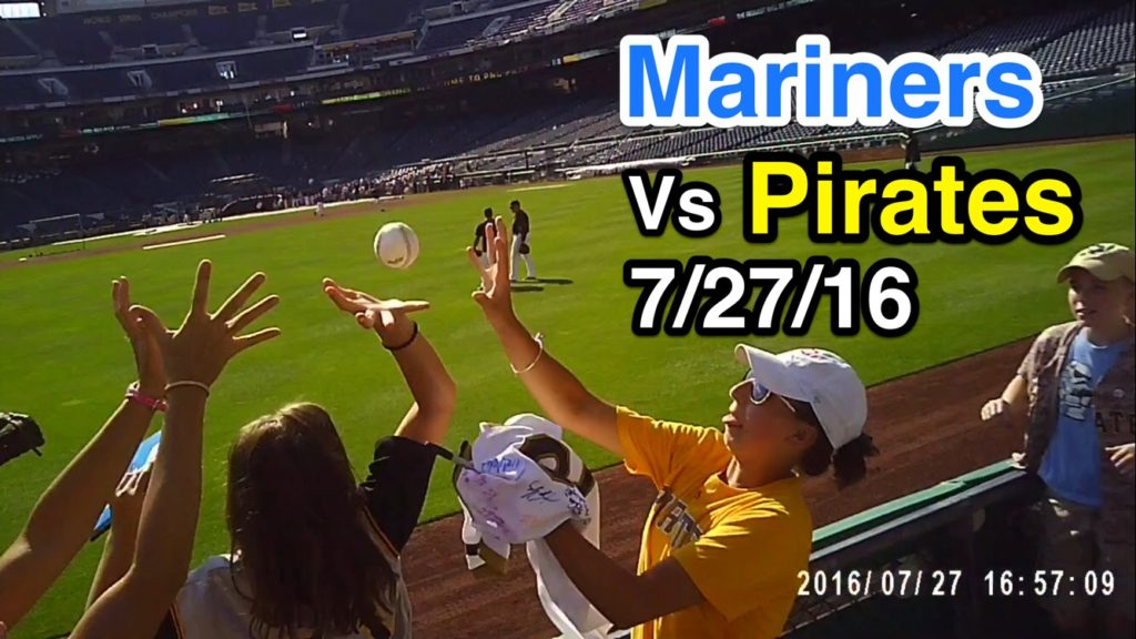 Game 73 of 2016: The Seattle Mariners are an awesome batting practice team. PNC Park 7/27/16