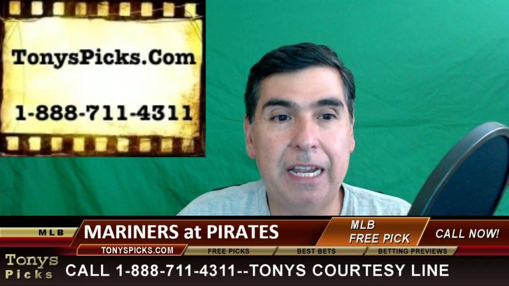 Seattle Mariners vs. Pittsburgh Pirates Pick Prediction MLB Baseball Odds Preview 7-26-2016