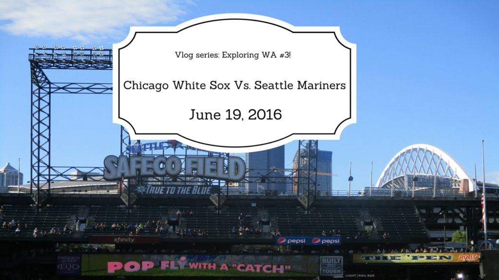 Exploring Wa #3: Mariners game!