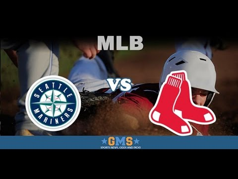 MLB 16 Seattle Mariners at Boston Red Sox Game #69