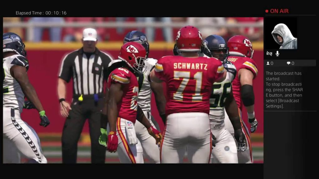 Madden 17 Re-Rated Rosters By Nyeph1 Seahawks @ Chiefs