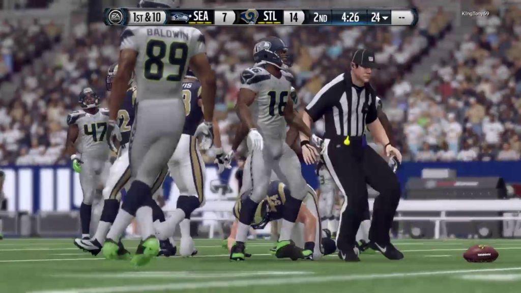 Rams vs Seahawks (NFC Championship Game )