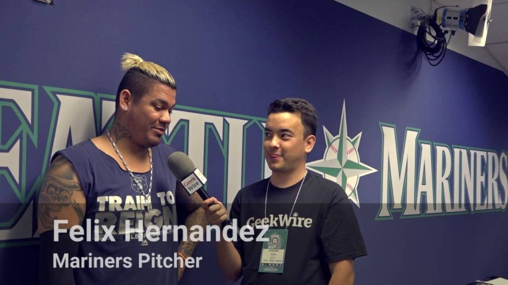 Seattle Mariners players and coaches on robotic umpires