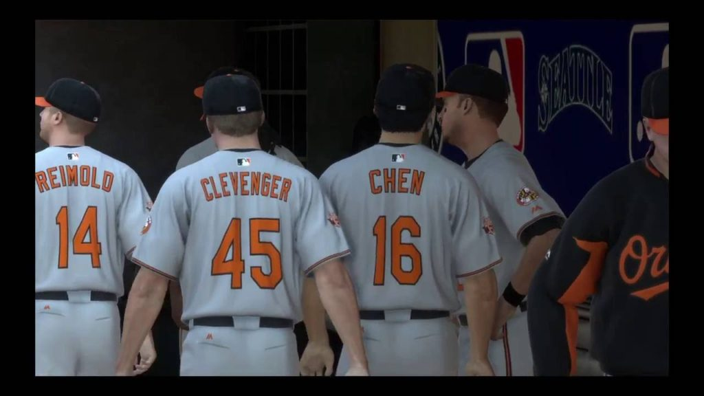 Baltimore Orioles vs Seattle Mariners|MLB 14 The Show