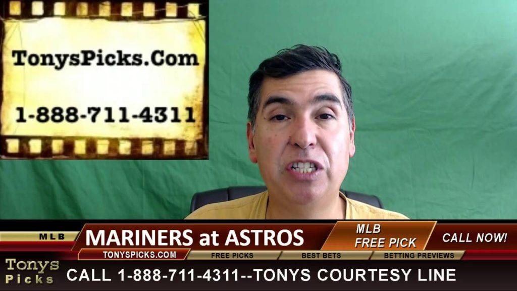 Seattle Mariners vs. Houston Astros Pick Prediction MLB Baseball Odds Series Preview