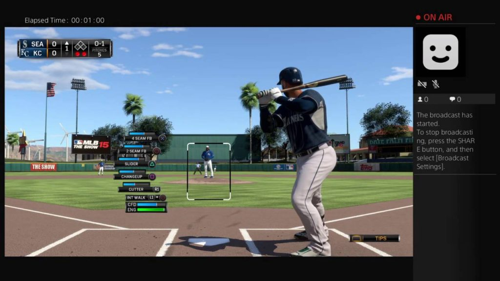 MLB 2015 The Show: Spring Training Royals v Mariners