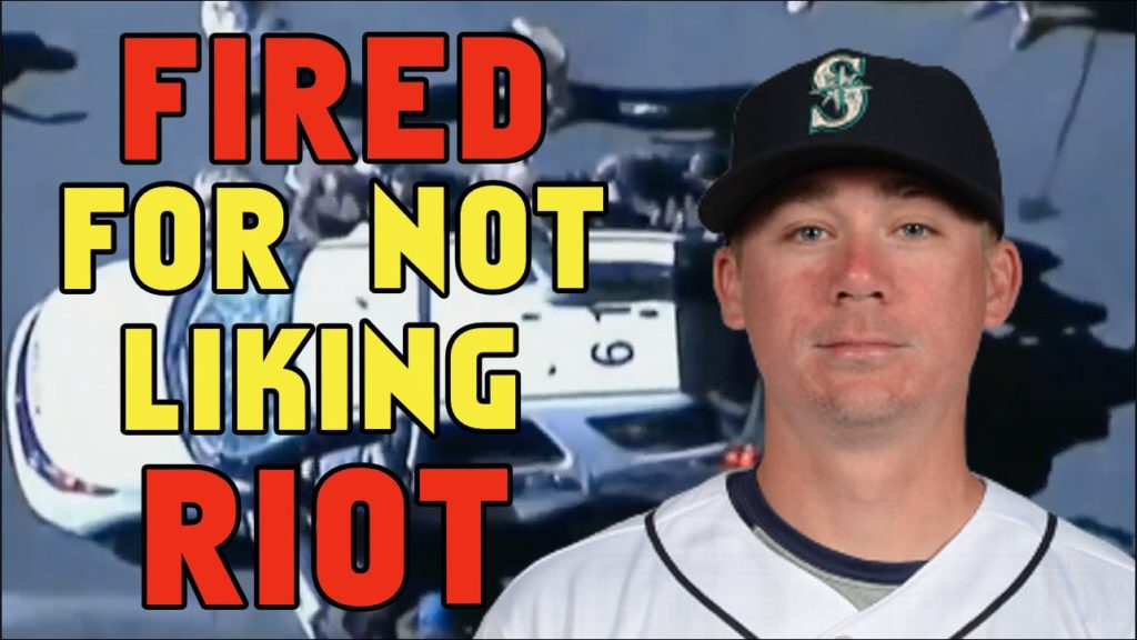 Baseball Player Banned from MLB For Criticizing Riots