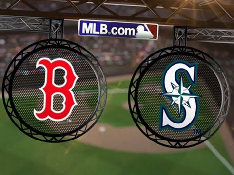 MLB 16 Boston Red Sox at Seattle Mariners Game #105