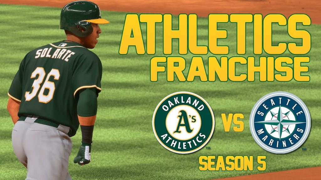 MLB The Show 16: Athletics Franchise at Mariners [S5 G67, Ep. 122]