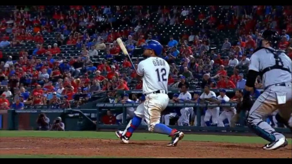 ROUGNED ODOR – Walk Off Homer vs. Mariners (AUG 30)