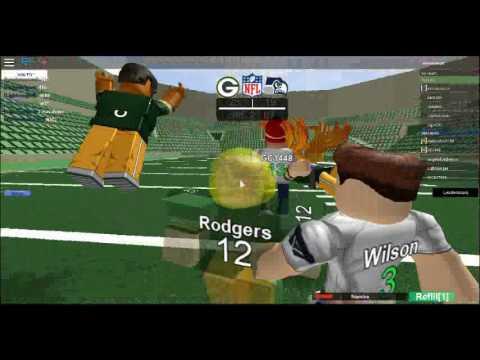 Packers vs Seahawks Part 2 (NFL LEGENDS)