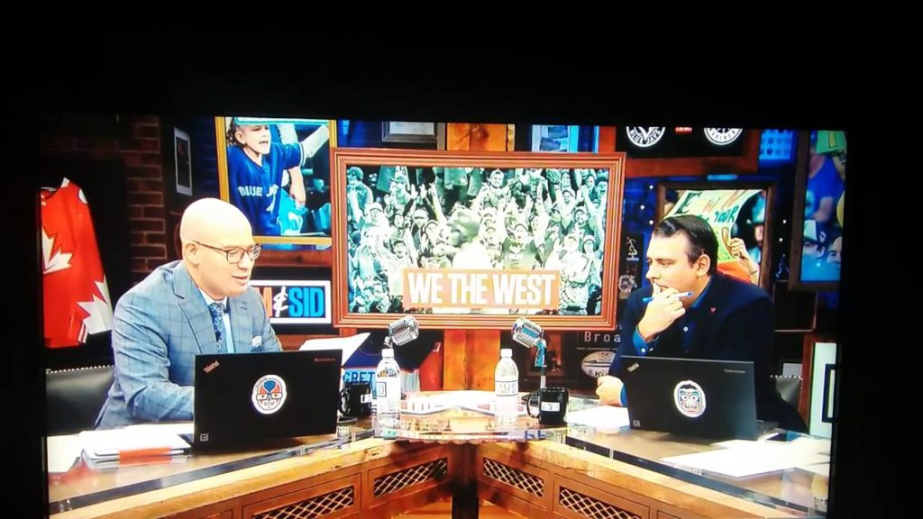 Tim and Sid-Jays fans invade Seattle #WeTheWest