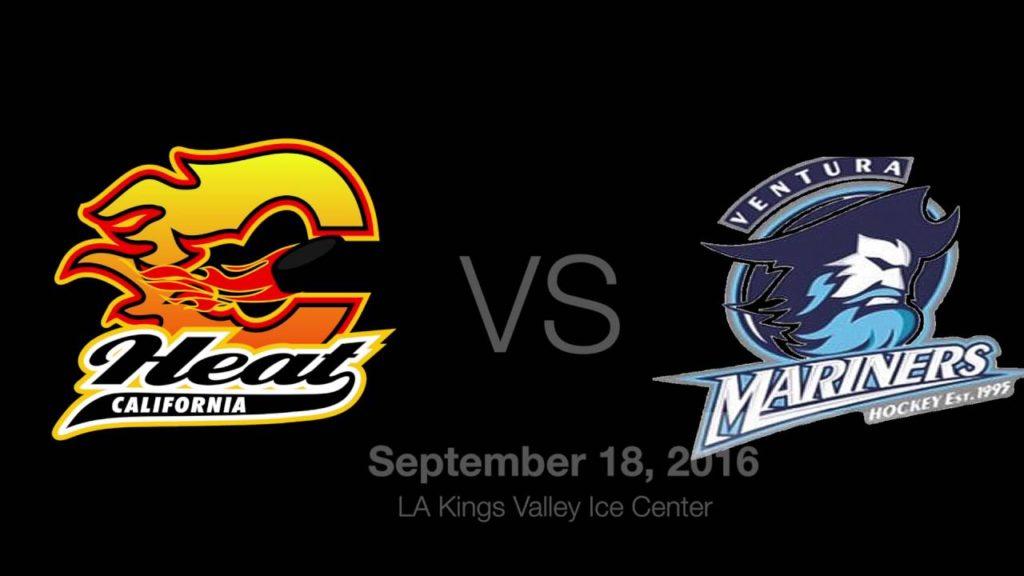 Heat vs JrDucks-JrCondors-Mariners