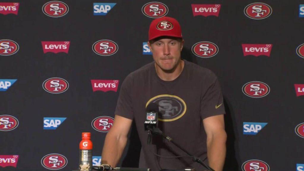 49ers vs Seahawks | Postgame Press Conference | Blaine Gabbert