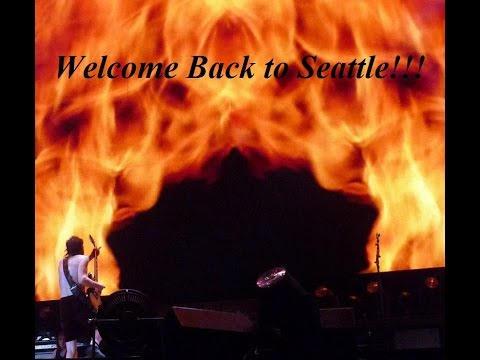 WELCOME BACK TO SEATTLE ACDC