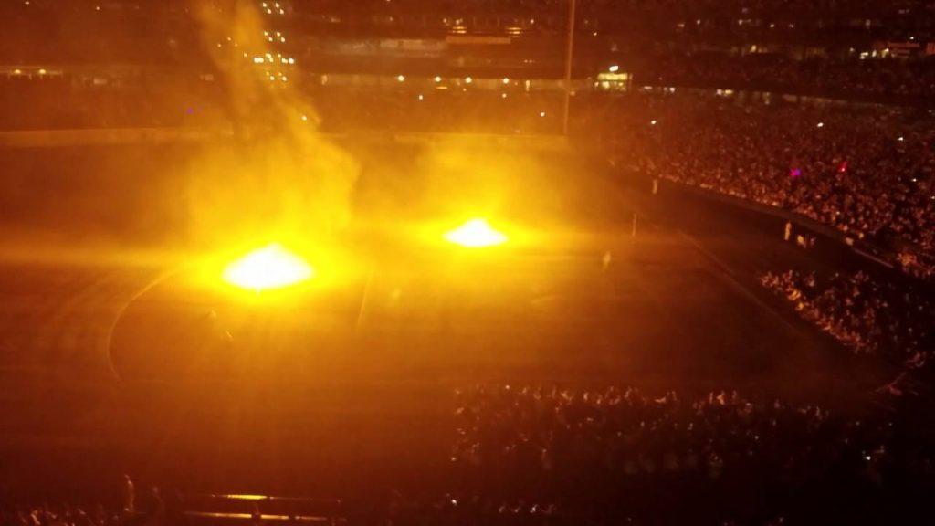 Star Wars fireworks display – Seattle Mariners