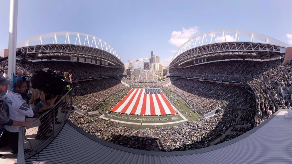 A 360 Look at Seahawks Pregame from the Toyota Fan Deck at CenturyLink Field