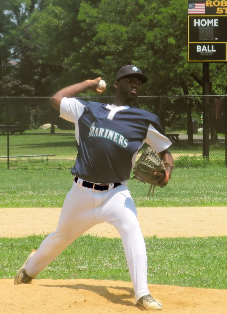 Joel Cabrera Pitcher New York Mariners Baseball 2016
