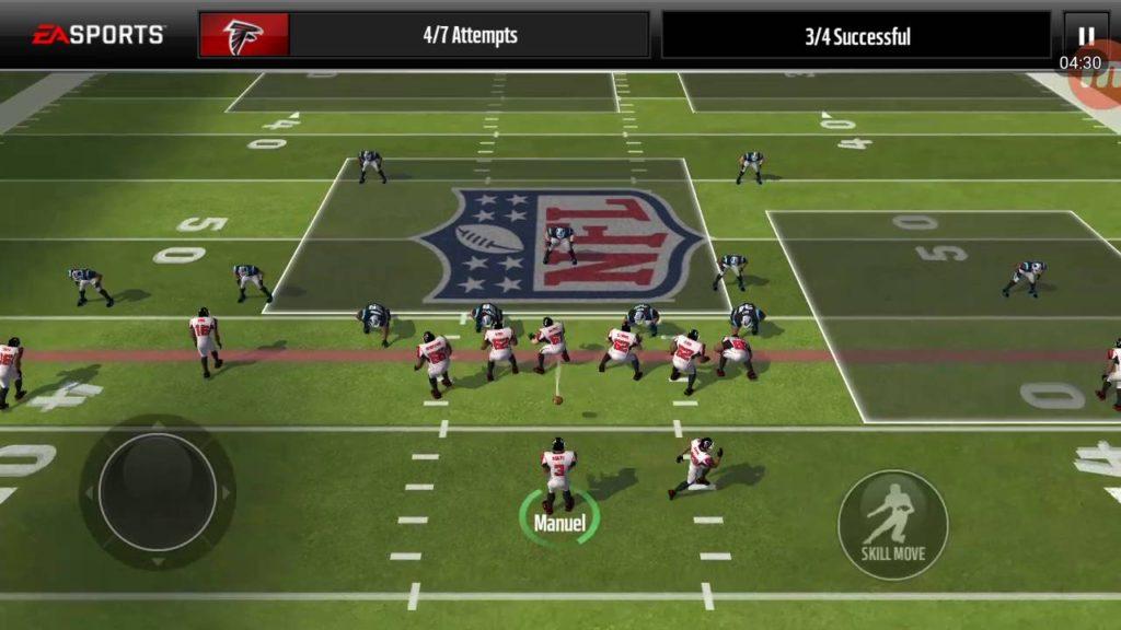 Atlanta falcons vs Seattle Seahawks NFL game