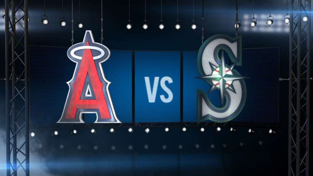 8/5/16: Six-run 1st inning leads Mariners over Angels