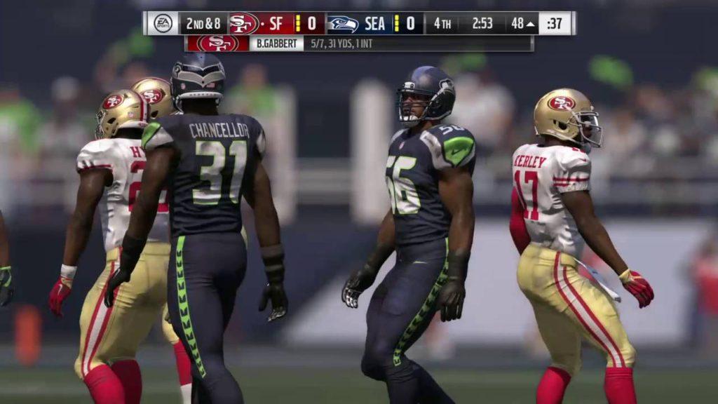 Madden 17 predict 49ers vs seahawks week 3