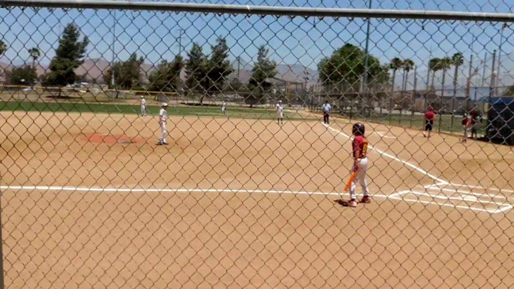 Yman Baseball … Isaac's first batter of his USSSA No Hitter 7/16 HB MARINERS 11U