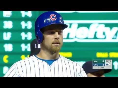 MLB 2016/07/31 Mariners VS Cubs (Highlights)