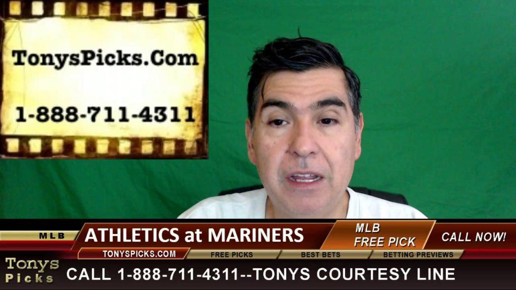 Oakland Athletics vs. Seattle Mariners Pick Prediction MLB Baseball Odds Series Preview