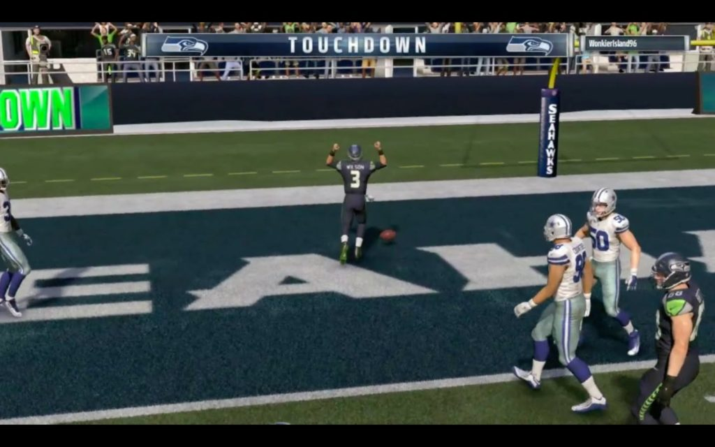 Madden 17 Online Ranked Gameplay (Seattle Seahawks vs. Dallas Cowboys)