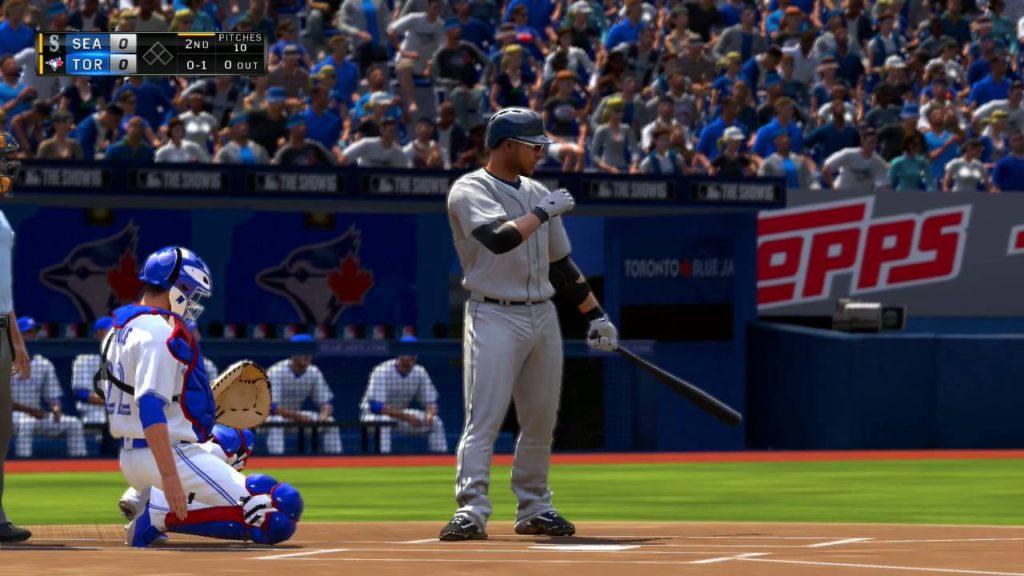 MLB The Show 16 Seattle Mariners vs Toronto Blue Jays 7 23 2016