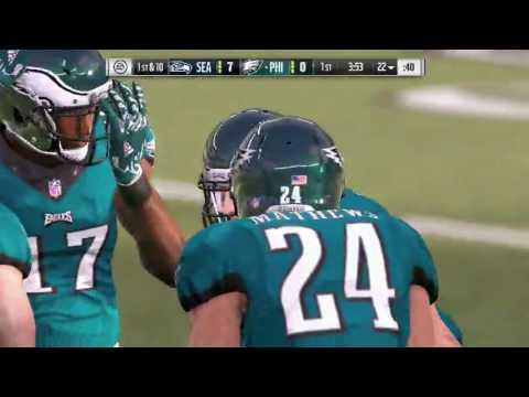 Madden 17 Seattle Seahawks vs Philadelphia Eagles