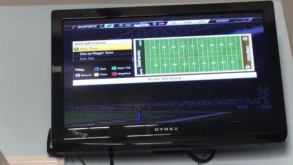 Game one vs Seahawks 100 yard run