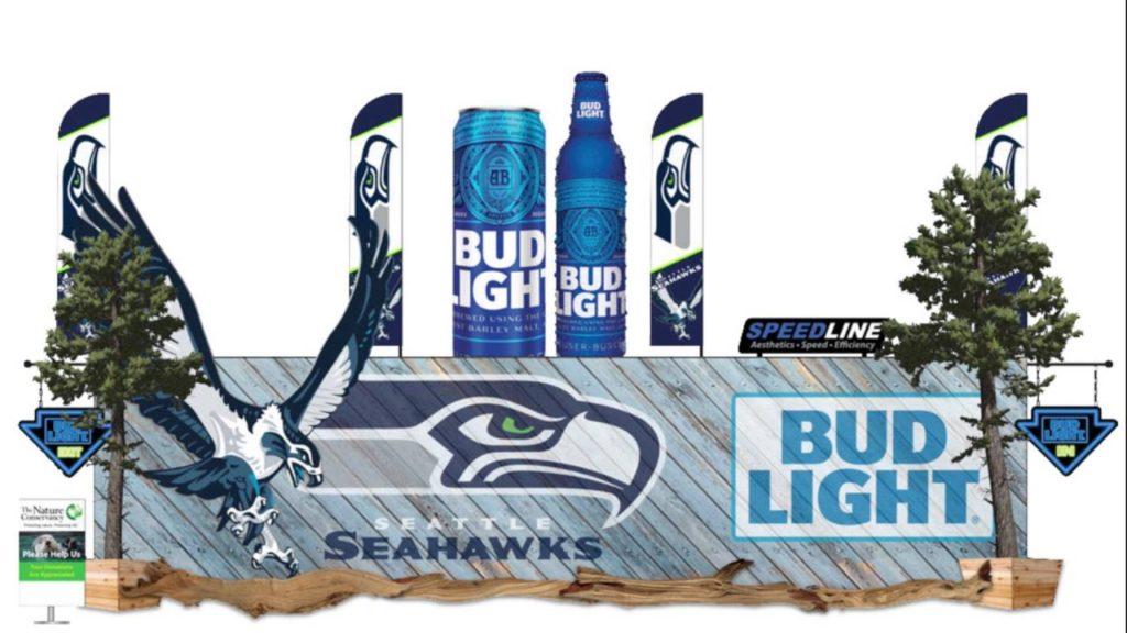 Century Link Seahawks Speed Line Concept #1