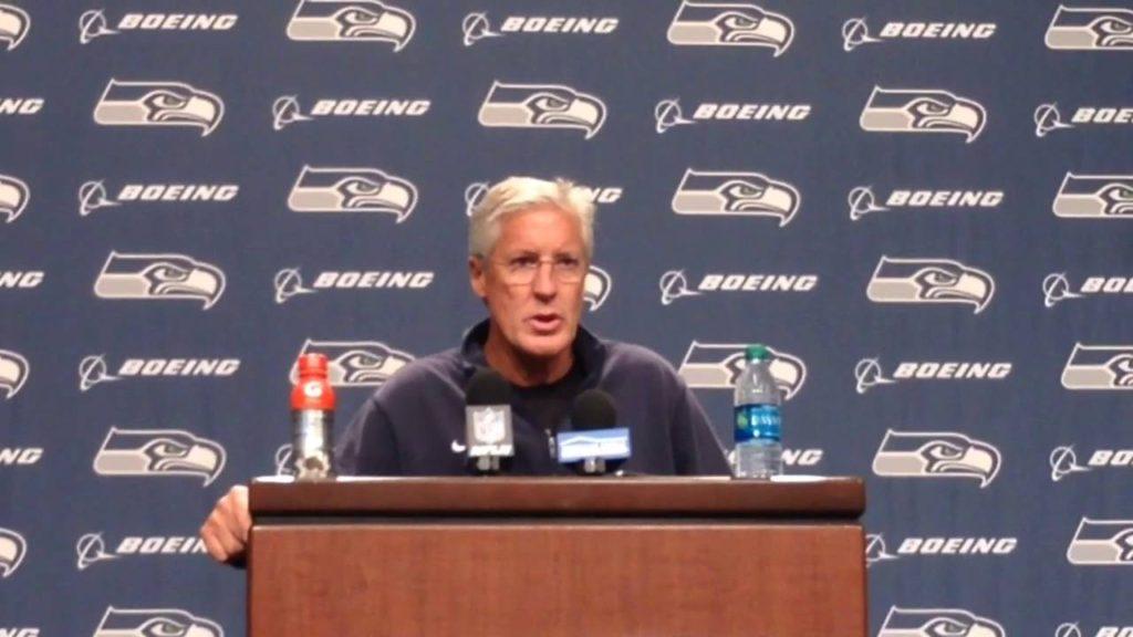 Seahawks coach Pete Carroll praises Kelly, 49ers