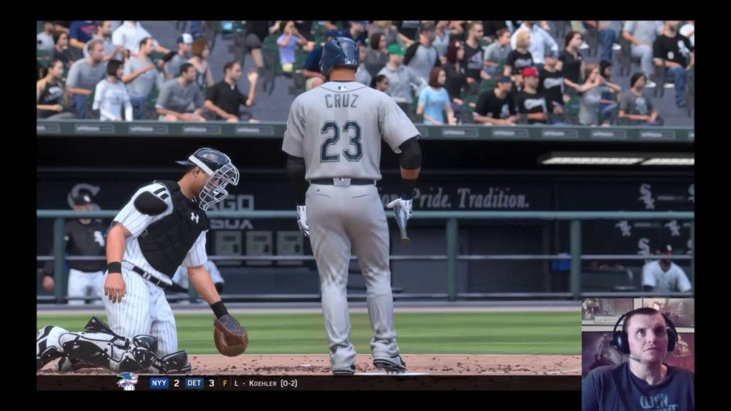 MLB The Show 16 (PS4) Franchise as White Sox vs. Mariners S-2 G-52(Part2)